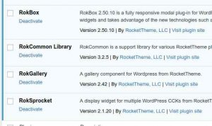 RocketTheme plugins no auto-updates