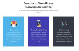 Joomla2WordPress
